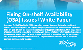 Fixing On-shelf Availability (OSA) Issues